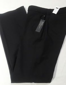 Banana Republic Black Martin Fit Trousers NWT Sz 0